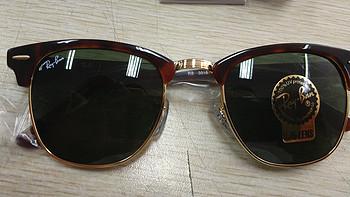 #原创新人# Ray-Ban 雷朋 RB3016 Clubmaster 复古款太阳镜 晒单