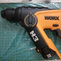 WORX 威克士 WX382.7(H3) 12V轻型电锤开箱评测及小科普