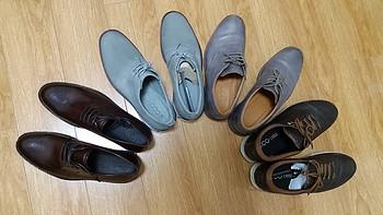 ECCO 爱步 Henley 亨利&Jeremy 杰里米 开箱 另附ECCO多款男鞋对比及尺码