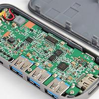 暴力拆解师 篇十:小品牌也有好做工 :Hootoo USB type-c扩展坞  详解