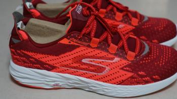 在舒适的前提下颜值也跟上了:SKECHERS 斯凯奇 GO RUN 5 男子跑鞋 晒单+体验