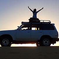 懵妹带你游埃及 篇一:#出游记#单反菜鸟妹子用半幅相机支撑起来的撒哈拉黑白沙漠—银河之旅