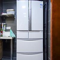 #本站首晒#小空间也要大冰箱 — HITACHI 日立 R-SF49GC  冰箱