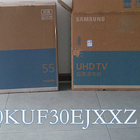 SAMSUNG 三星 UA50KUF30EJXXZ 50英寸液晶电视简评,附与UA55KU6100JXXZ的差异对比