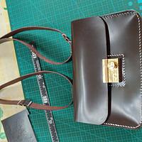 让业余生活更有意思,手工皮具DIY小记 篇六:咖啡空姐包