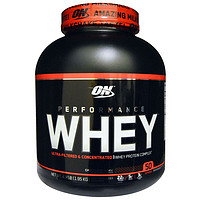 Optimum Nutrition, 性能乳清,巧克力奶昔,4.3磅(1.95公斤)