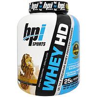 BPI Sports, 超级优质乳清蛋白粉,花生酱冰淇淋,4.2 磅(1900 克)