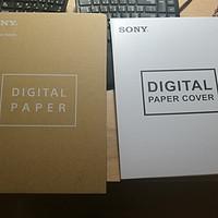 #原创新人#SONY索尼DPT-RP1 Digital Paper电纸书开箱及两天使用感受