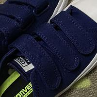 给儿子买的第N双鞋 篇三十:#晒单大赛#百搭亲子鞋!Converse 匡威 Chuck Taylor II 魔术贴帆布鞋