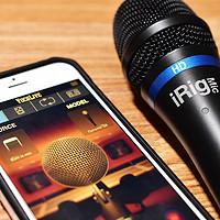 #晒单大赛#手机唱歌音质差,那是你话筒没选对—iRig Mic HD麦克风