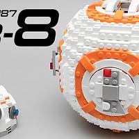 #晒单大赛#星战世界的新一代萌神—LEGO 乐高 星球大战系列 75817 BB-8 机器人 开箱评测