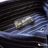 还原经典!Pike Brothers 1937 Roamer Wabash 丹宁衬衫