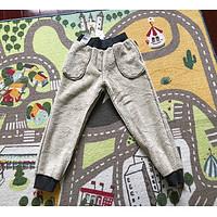 服饰快消品 篇四十八:#晒单大赛#UNIQLO 优衣库 儿童仿羊羔绒运动长裤 晒单