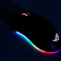 #晒单大赛#RGB光污染、可以自己换微动的游戏鼠标:ASUS 华硕 ROG P502鼠标 晒单&拆解
