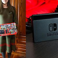 #晒单大赛#圣诞惊喜——老婆送我一台Nintendo Switch