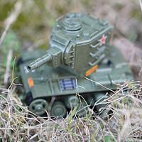 我是大玩家 篇四:我们可靠的同志上线了—MENG WWT-004 苏联KV-2重型坦克 Q版模型 开箱