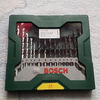 拖延症患者的第一套钻头—BOSCH 博世 15支钻头绿色套装