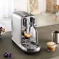 #原创新人#奶泡玩法多变化— Nespresso 奈斯派索 Creatista Plus 咖啡机 黑色