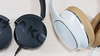 AKG 爱科技 Y50有线头戴式耳机 开箱