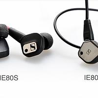 动圈耳塞的王者归来—SENNHEISER 森海塞尔 IE80S 入耳式耳机 开箱