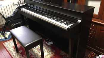 Yamaha 雅马哈 Clavinova CLP635 电钢琴开箱晒物