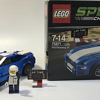 LEGO 乐高 拼拼乐 75871 超级赛车系列 福特野马GT