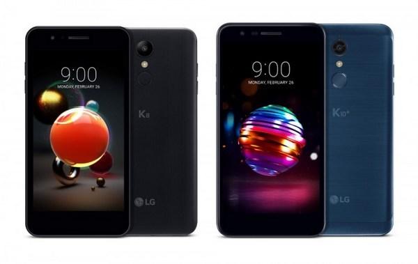 入门级方案、主打拍照:LG 发布 K8 / K10(2018)智能手机