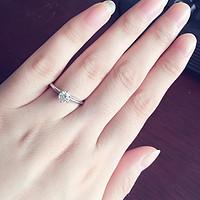 #女神节礼物#属于我的那颗星—Blue Nile 钻石戒指记