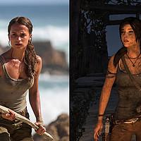 评《古墓丽影9》PS4游戏和《古墓丽影:源起之战》电影异同