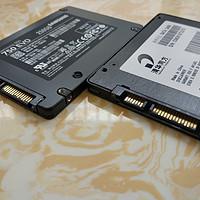 SAMSUNG 三星 750 250G VS THTF 清华同方 240G 固态硬盘 对比