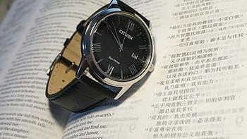#原创新人#极简高CP:CITIZEN 西铁城 AW1231-07E 石英男士手表