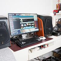 感受自上而下的激情:HiVi 惠威 M300 多媒体有源音箱 上手体验谈