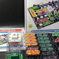#剁主计划-北京#本站首晒#一套神奇的玩具:ELENCO 埃伦克 Snap Circuits 203 电路探索玩具套装 开箱