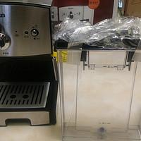 #原创新人#500元的三合一意式半自动咖啡机:Donlim 东菱 DL-JDCM01 开箱加第一杯卡布奇诺