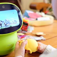 #全民分享季#给我孩子辅助教育学习用的智能设备:布丁豆豆 智能机器人