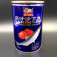 白菜寻好物 篇七:#剁主计划-青岛#便宜又好吃,连买三次—GuLong 古龙 茄汁沙丁鱼罐头 开罐&试吃