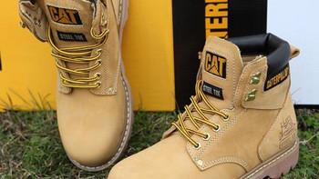 #全民分享季#卡特彼勒软头黄靴分享