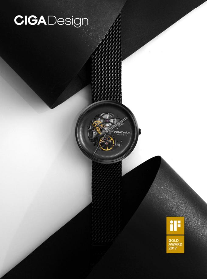 双面镂空设计:CIGA Design 玺佳机械表·MY系列 登陆小米众筹