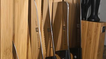ZWILLING 双立人 TWIN Chef 刀具九件套晒单,兼双立人刀具系列浅谈