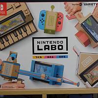 小游戏编程爱好者福音—Nintendo 任天堂 SWITCH Labo 五合一套装 开箱与使用心得