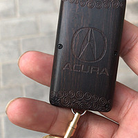 定制紫光檀车钥匙壳晒单(附简易更换教程)