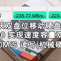 MAIWO 麦沃 移动硬盘盒 将2个1T硬盘 组 RAID0 实现速度容量双叠加