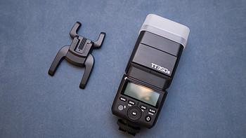 小巧性能强:Godox 神牛 TT350S 索尼版高速TTL热靴灯开箱