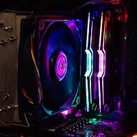 穷车富表Diao丝电脑 篇六十二:幻光戟之外的跑马灯内存选择—ADATA 威刚 XPG-龙耀系列 DDR4 3600 16G套装内存测试