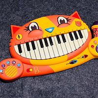 女儿的儿童节礼物: B.Toys 比乐 大嘴猫电子琴晒单