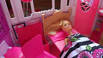 图书馆猿の送小主的六一礼物:Barbie 芭比 CFB65 闪亮度假屋带娃娃大套装礼物女孩玩具礼盒