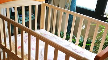GB 好孩子 MC306-J311 实木摇篮婴儿床 开箱晒物