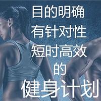 小帅说健身 篇二:运动没效果?可能是健身计划出了问题!教你制定一套靠谱的健身计划