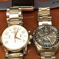 CASIO 卡西欧 Oceanus 海神 T2600 手表 开箱对比