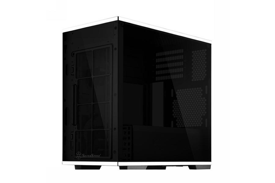 钢化玻璃、倒置结构:SILVER STONE 银欣 发布 Lucid LD01 机箱